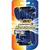 Bic Comfort 3 Advance Shavers For Men 4 EA - Buy Packs And SAVE (Pack Of 3)