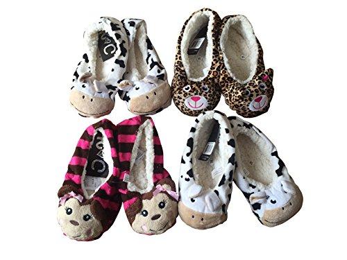 6 Animal Eur Quarto 8 Projeta Senhoras Senhoras 39 Leopardenmuster 42 5 chinelos Tamanhos Uk Para 5 Babba Pantufas Confortáveis Padrão 5 dB8fq7ZfWw