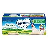 Mellin Omogeneizzato Pollo - 12 Vasetti da 80 gr