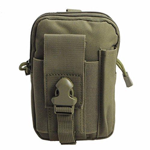 Preisvergleich Produktbild Mehrzweck-Tactical Gürtel Dump Tasche Military Kordelzug Drop Bein Tasche EDC Taille Pack für iPhone 7S Samsung Galaxy S7Note5LG G5und mehr