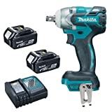 Makita DTW285RFE cordless impact wrench with 2B and Fast charger
