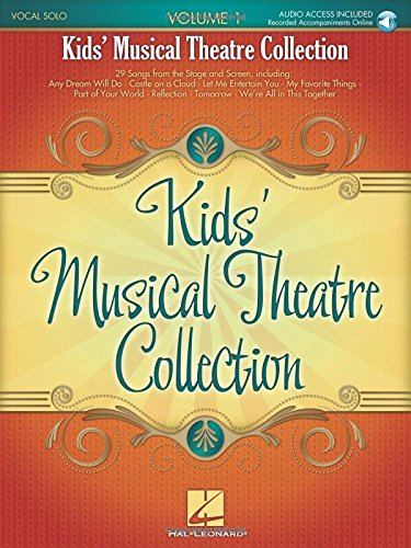 Kids' Musical Theatre Collection: Volume 1 (Book/Online Audio)