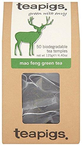Teapigs Mao Feng Green Tea 125g 50 Tea Bags (Pack of 4)