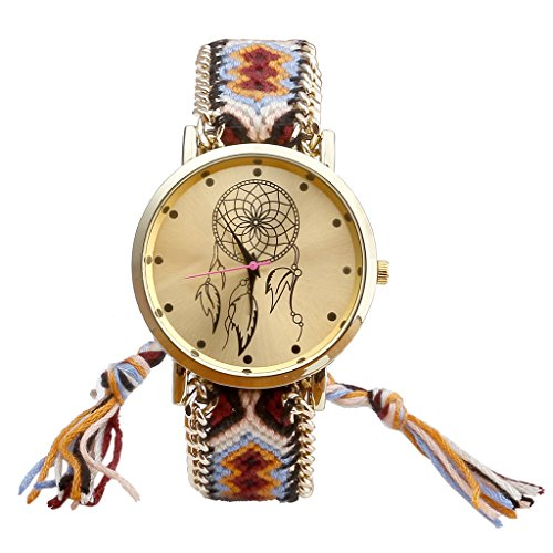 jsdde-uhrendamen-ethnisch-dreamcatcher-traumfaenger-freundschaft-braid-armbanduhr-gewebte-seil-band-