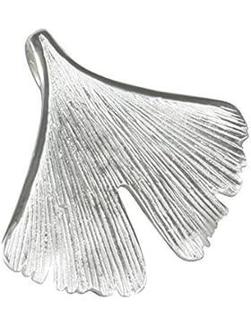 AFP Damen Anhänger Ginkgoblatt 925 Sterling Silber AS-142
