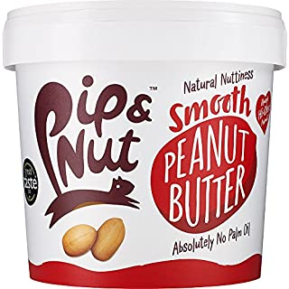 Pip & Nut Smooth Peanut Butter, 1 kg, Pack of 2