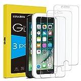 SPARIN [3-Pack Protector Pantalla iPhone 6/6s/7/8, Cristal Templado iPhone 6/6s/7/8, Vidrio Templado con [2.5d Borde Redondo] [9H Dureza] [Alta Definicion] para iPhone 6/6s/7/8