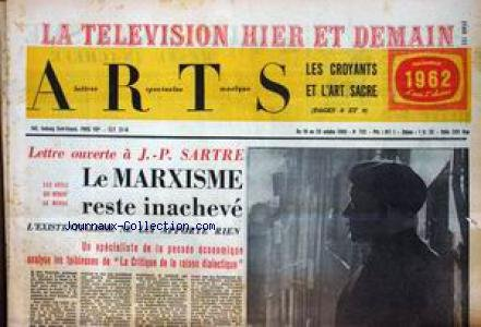 ARTS [No 792] du 19/10/1960 - LA TELEVIS...