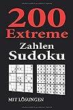 200 extreme Zahlen Sudoku mit Lösungen: zwei 9x9 Rätsel pro Seite | im handlichen Taschen Format ca. A5 - Softcover | Geschenkidee für Knobel, Puzzle, Rätsel & Sudoku Fans | Rätselbuch / Rätselblock - Rätselfuchs