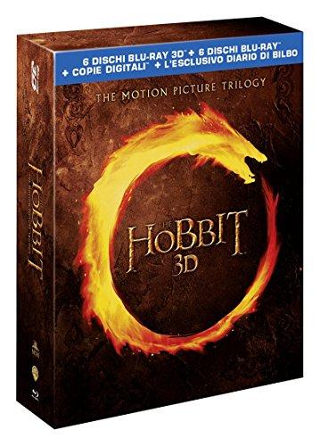 Lo Hobbit - La Trilogia Cinematografica 3D (6 Blu-Ray 3D + 6 Blu-Ray Disc + Diario di Bilbo);The Hobbit - An Unexpected Journey;Lo Hobbit - La trilogia cinematografica [Italia] [Blu-ray]