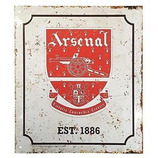 Metal Retro Logo Sign - Arsenal F.C