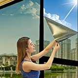 Mirror Silver Solar Reflective Window Film One Way Insulation Privacy Stickers 1 pc(24 INCH -60 INCH)