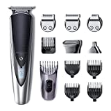 Best Bear Trimmers - Hatteker Mens Beard Trimmer Kit Body Mustache Trimmer Review