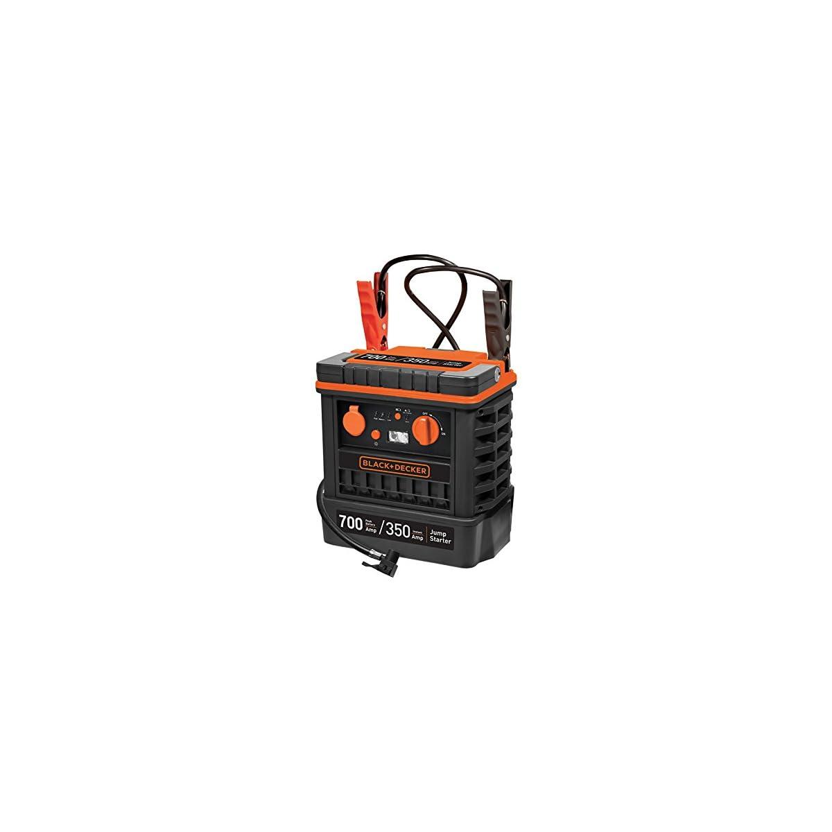 5105o9yF0lL. SS1200  - Black+Decker JS700TKCB Arrancador y Compresor de 350 A con Bolsa