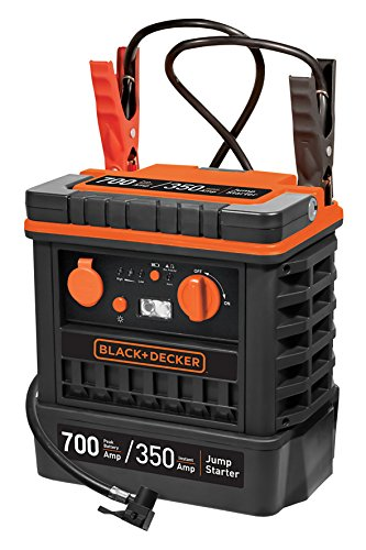 Black+Decker JS700TKCB Arrancador Compresor 350 A