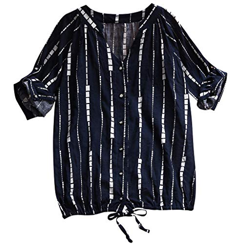 Oversized Vintage Clutch (EERTX - ♛Zeitlich begrenztes Special♛/Damen Tshirt Langarm Elegant Lose Asymmetrisch Sweatshirt Pullover Bluse Oberteile Oversized Top T Shirt(Mehrfarbig)