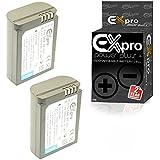 Ex-Pro ® Samsung bp1900–2660mAh Haute Puissance ultra plus + Batterie au lithium li-ion Batterie pour Appareil Photo Numérique Samsung NX1Appareil photo numérique