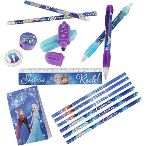 Preisvergleich Produktbild Schreib-Set für Kinder Mädchen Disney Die Eiskönigin mit tollen Motiven von Anna und Elsa