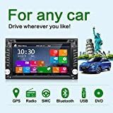 neuesten Win 8 UI Design 15,7 cm-INDASH Doppel 2 DIN LCD Touch Screen Navigation Auto Video Audio Radio Auto Stereo mit Bluetooth, Subwoofer Ausgang + GPS ANTENNE + GPS MAP + riview Kamera