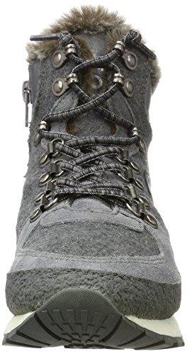Bugatti Damen 421285511469 Hohe Sneaker Grau (Dark Grey/ Grey)