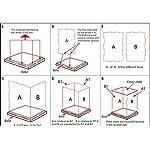 MIMIEYES-Custodia-scatola-per-esposizioni-in-acrilico-dimensione-254-cm-x-1448-x-134-cm-a-prova-di-polvere-adatta-per-contenere-le-minifigure-LEGO-colore-della-base-nero