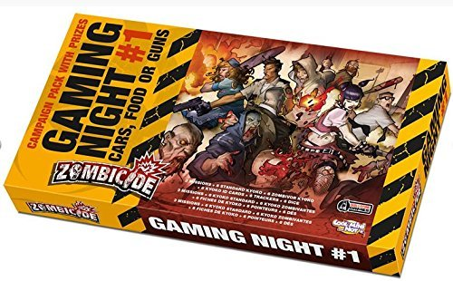 Zombicide: Gaming Night #1 Cars, Food or Guns by Cool Mini or Not