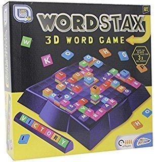 WORDSTAX-3D-WORD-GAME-Eine-einzigartige-Variante-des-klassischen-Scrabble-Spiels Holland Plastics Original Brand WORDSTAX – 3D Word Game – Eine einzigartige Variante des klassischen Scrabble-Spiels! -