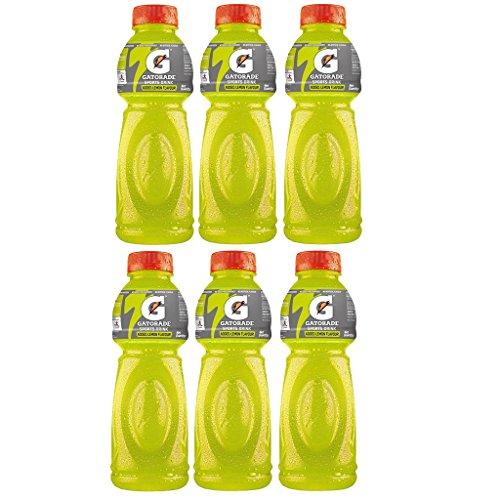 Gatorade Sports Drink, Lemon, 500ml each (Pack of 6)