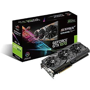 GeForce GTX 1070 Strix 8GB DDR5 256BIT DVI/HDMI/DP