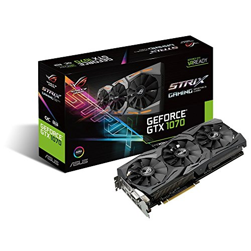 Asus GeForce GTX 1070 8GB ROG STRIX OC Edition Graphic Card