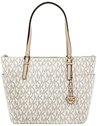Michael Kors Jet Set Ladies Large Leather Tote Handbag 35F6GTTT9B