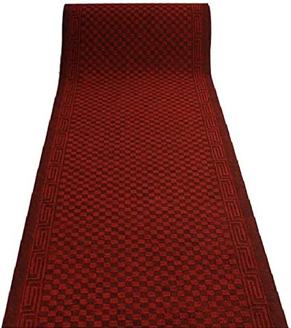 GuoWei-Tappeto Passatoia per Corridoio Ingresso Lungo 6 millimetri Antiscivolo rosso, Modello più Dimensioni Personalizzabile (Coloreee   rosso, Antiscivolo Dimensioni   1.2x4m) 45cbc2