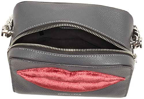 Kendall + Kylie - Lucy Lips, Borse a tracolla Donna Multicolore (Smokey - Deep Wine)