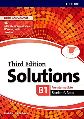 Solutions 3rd Edition Pre-Intermediate. Student's Book (Solutions Third Edition)