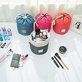 VAZLL Viaggia grande borsa capacità di cosmetici, sacchetto della lavata, sacchetto di immagazzinaggio esterna impermeabile, sacchetto della lavata cilindro , rose red