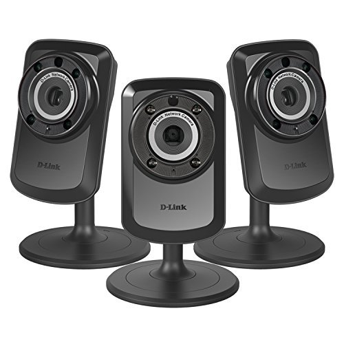 3 PACK D-Link Home Surveillance Wireless Day/Night WiFi Network Camera DCS-934L  available at amazon for Rs.22689