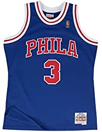 Mitchell & Ness Allen Iverson # 3Philadelphia 76ers NBA Maillot 1996–97swingman Bleu