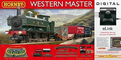 Hornby Western Master avec le cyberlien DCC calibre 00Ensemble de Train Électrique