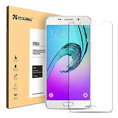 Coolreall - Samsung Galaxy A5 Cristal/Vidrio Templado Protector de Pan