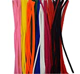 Satyam Kraft Craft Pipe Cleaner for Hobby Crafts, Scrapbooking, DIY Accessory (100 Pieces, 12-inch)