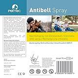 Nachfüllspray 3er -Pack Made in GERMANY für Erziehungshalsband Antibark PetTec, Petsafe, Innotek, umweltfreundlich mit Zitronenaroma