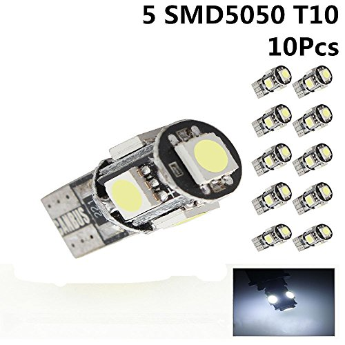 riglight-10-x-ampoules-w5-w-t10-501-lecture-eclairage-360-sans-erreur-canbus-blanc-xenon-5050-smd-le