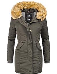 Marikoo Damen Winter Mantel Winterparka Karmaa XS-XXXXXL (vegan  hergestellt) 15 Farben XS ccceea7a3b