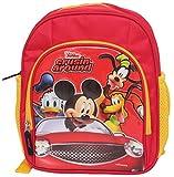Disney Polyester 12 Ltr Red School Bag