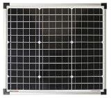 enjoysolar® monokristallin 30W 12V Módulo Solar Panel Solar Mono 30W IDEAL PARA Jardín Autocaravana Caravan