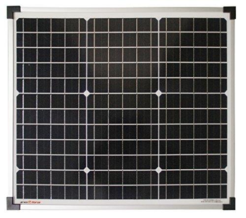 enjoysolar® monokristallin 30W 12V Módulo Solar Panel Solar Mono 30W IDEAL PARA Jardín Autocaravana Caravan (precio: 38,99€)