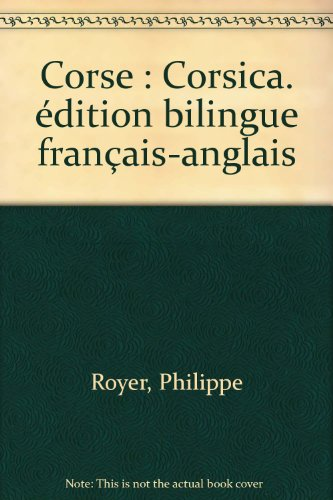 Corse : Corsica. édition bilingue français-anglais