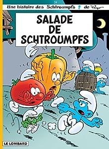 "Afficher ""Les Schtroumpfs n° 24 Salade de Schtroumpfs"""