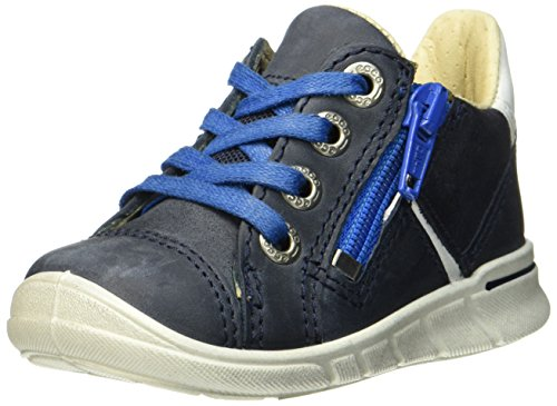 Ecco Baby Jungen First Sneaker, Blau (Marine/White), 21 EU