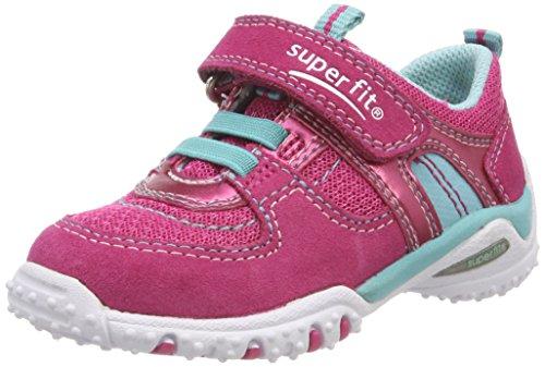 Superfit Sport4 Mini Baby Mädchen Lauflernschuhe, Rosa (Rosa Kombi), 25 EU